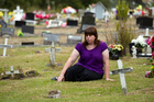 Brenna Innes says she was told her sister might not be interred where she believes she is. Photo / Brett Phibbs