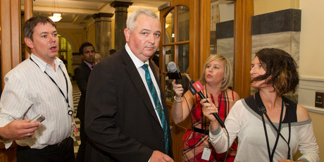 NZ First MP Richard Prosser claims his comments were the result of a &quot;brain explosion''. Photo / Mark Mitchell