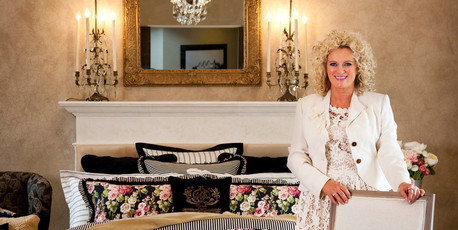 Fashion icon Trelise Cooper says she has always wanted to do a homeware collection. Photo / Supplied