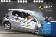 The Mirage scored solid results across all safety tests by the Australasian New Car Assessment Program. Photo / Supplied