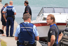 A man was rescued from the Tauranga Harbour after his kayak sunk. Photo / Bay of Plenty