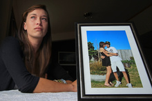 Kaylas Oliver's boyfriend Dennis Heyne was deported to Germany but their love has endured.  Photo / Bay Of Plenty Times