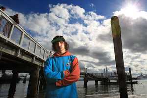 Josiah Iraia is lucky he didnt drown after being knocked unconscious while jumping off Salisbury Wharf. Photo / Supplied