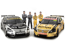 Four Nissan Altimas will compete in this year's V8 Supercars championship. Photo / Supplied 
