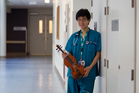 David Choi is a doctor and talented violinist. Photo / Kellie Blizard