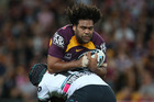 Brisbane Broncos captain Sam Thaiday admitted to floundering after Darren Lockyer retired. Photo / Getty Images