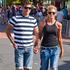 Sally Ridge and Warren Fenning at Auckland Pride Parade 2013. Photo / Neville Marriner