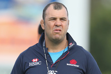 Waratahs coach Michael Cheika. Photo / Getty Images