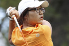 Lydia Ko putts on the 15th hole during day two of the ISPS Handa Australian Open. Photo / Getty Images