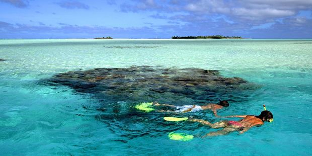 Marine reserves are improving snorkelling in the Cook Islands. Photo / Supplied