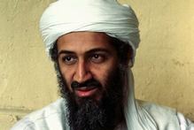 Osama bin Laden was shot during a raid by U.S. Navy SEALs in Pakistan. Photo / AP