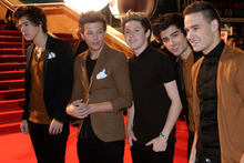 British pop group One Direction. Photo / AP