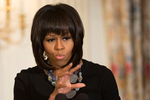 First lady Michelle Obama. Photo / AP