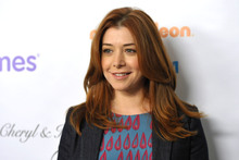 Alyson Hannigan has been granted a restraining order against her alleged internet stalker. Photo / AP