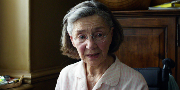Emmanuelle Riva says being offered the role of Anne was an extraordinary gift. Photo / Supplied