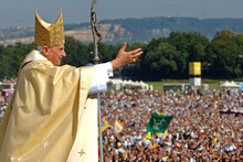 Pope Benedict has set a powerful new precedent for the modern papacy. Photo / AP