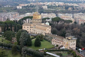 Mater Ecclesiae Monastery where Pope Benedict XVI will live. Photo / AP