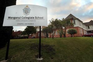 Wanganui Collegiate. Photo / Stuart Munro