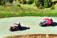 The Skyline Luge has been successfully exported to Canada, Singapore and a project is under way in South Korea. Photo / APN