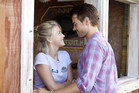 Julianne Hough and Josh Duhamel in their new movie 'Safe Haven'. Photo / Supplied