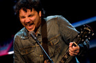 Wilco's frontman Jeff Tweedy. Photo / Richard Robinson