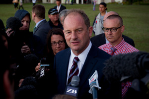 Labour Party leader David Shearer. Photo / Sarah Ivey