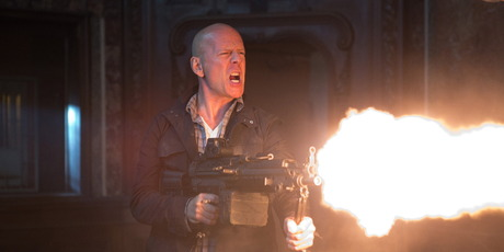 Bruce Willis in a scene from A Good Day to Die Hard. Photo / Supplied