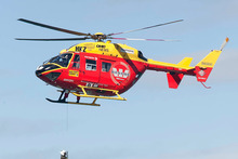 Of the 759 missions the Westpac helicopter flew in 2011-12, about 45 per cent were to Waiheke and the other Hauraki Gulf islands. Photo / APN 