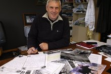 Tustin said his main motivation for continuing was the addictive thrill of the chase and the fear of regret. Photo / ODT