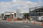 Construction of the new Central Police Station on the corner of St Asaph and Antigua Streets. Photo / APN