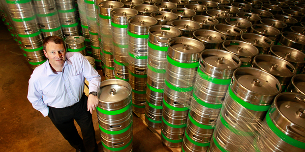 Independent Liquor chief executive Julian Davidson. The company is still on the prowl for new craft beer acquisitions. Photo / NZ Herald