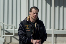 Rokas Karpavicius was extradited back to New Zealand on drugs charges in handcuffs in October. Photo / Sarah Ivey