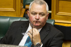 NZ First MP Richard Prosser during question time in Parliament this week. Photo / Mark Mitchell