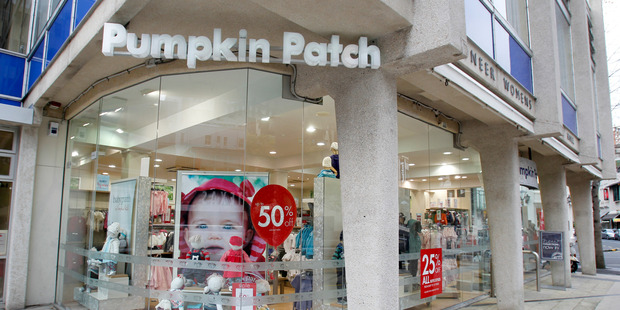 Costs of shutting stores in the UK and US haven't been repeated in the past half year for Pumpkin Patch, so it's back in profit despite a small fall in sales. Photo / NZ Herald