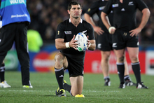 Stephen Donald is the subject of a new TV film that immortalises the All Blacks' World Cup campaign. Photo / Bay of Plenty Times