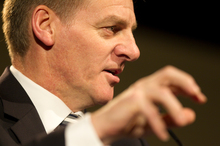 Bill English says NZ can't do anything to affect monetary policies being run by bigger economies. Photo / Greg Bowker 