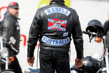 Rebel motorcycle club members. Photo / File / APN