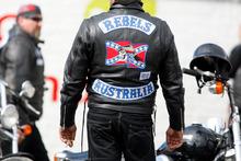 Rebel motorcycle club members. Photo / File / APN
