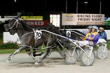 I'm Themightyquinn wins the 2011 interdominion Final in Auckland. Photo / NZPA