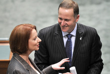 Prime minister John Key has agreed to take 150 of Australia's refugees. Photo / File