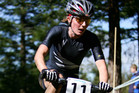 New Zealand's Rosara Joseph in action in the 2006 Mountain Bike World Championships in Rotorua. Photo / NZPA