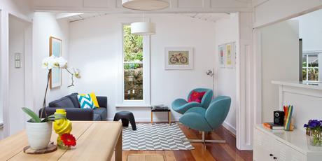 Widdows House for Canvas interiors. Photo / Larnie Nicolson, Your Home and Garden