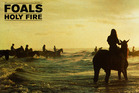 Album cover for Holy Fire by Foals. Photo / Supplied
