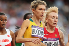 Zoe Buckman (Australia), pictured, and Susan Kuijken (Netherlands) have confirmed their start in the glamour street mile on April 1. Photo / Getty Images.