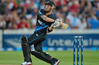 Brendon McCullum hit 74 from 38 balls setting up the Twenty20 victory. Photo / Getty Images