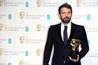 Ben Affleck with his Bafta for best film for Argo. Photo/AP
