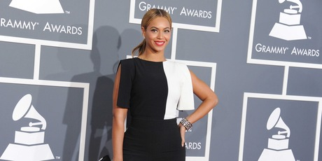 Beyonce at the Grammy Awards in Los Angeles. Photo/AP