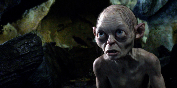 Gollum in The Hobbit: An Unexpected Journey. Photo/supplied