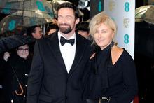Hugh Jackman and his wife Deborra-Lee Furness. Photo/AP