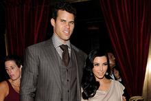 Kris Humphries and Kim Kardashian. Photo/AP